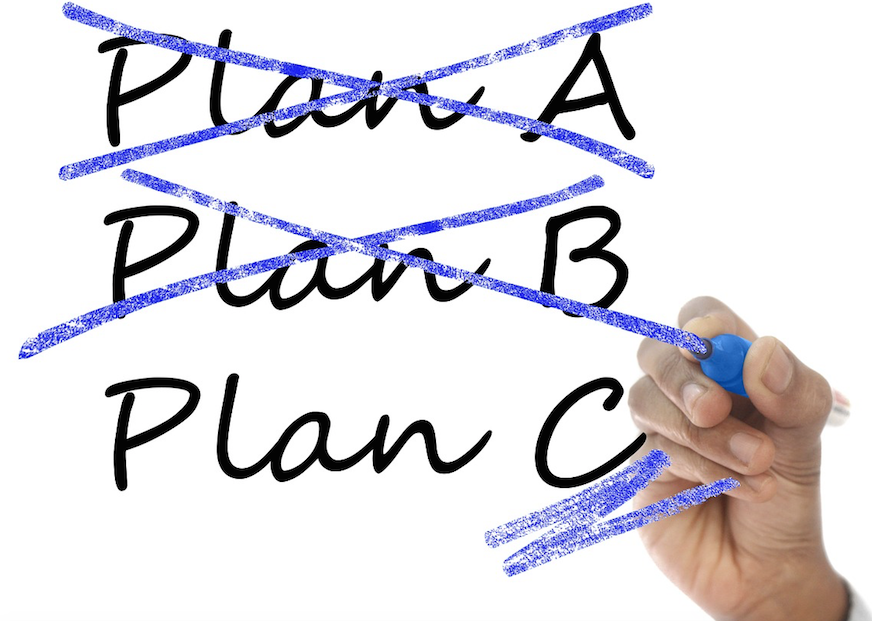 "How to Avoid the ""Plan A or Nothing"" Mentality"
